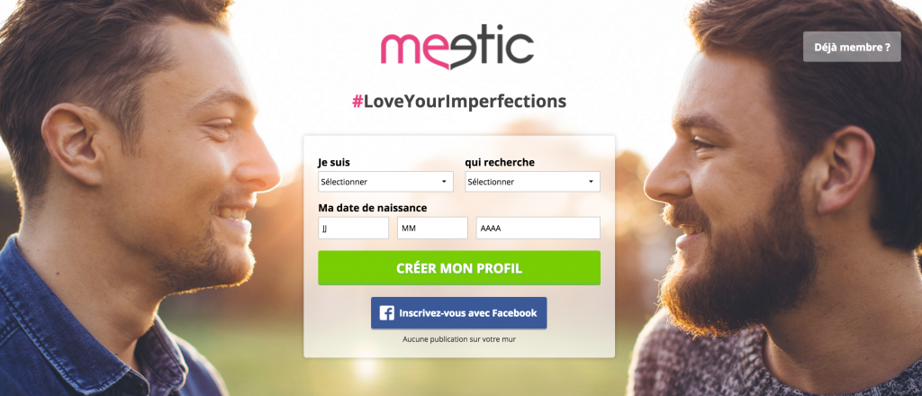 rencontre gay - Meetic Gay